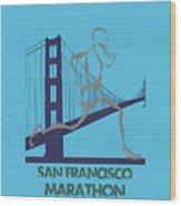 San Francisco Marathon2 Wood Print