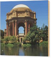 San Francisco - Palace Of Fine Arts Wood Print