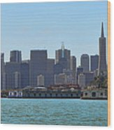 San Francisco Skyline -1 Wood Print