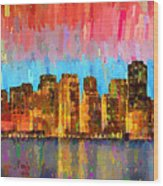 San Francisco Skyline 11 - Pa Wood Print