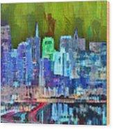 San Francisco Skyline 115 - Pa Wood Print
