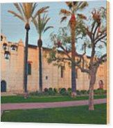 San Gabriel Mission California Wood Print