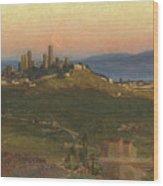 San Gimignano, 1898 Wood Print