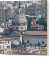 San Gioacchino In Prati Wood Print by Andy Smy
