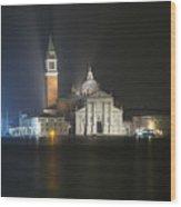 San Giorgio Maggiore By Night Wood Print