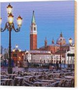 San Giorgio Maggiore From Piazza San Marco - Venice Wood Print