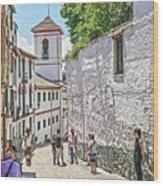San Gregorio Granada Wood Print