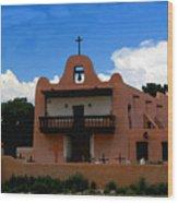 San Ildefonso Pueblo Wood Print