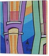 San Juan Alegre-4 Wood Print