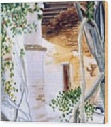 San Juan Capistrano Under The Archway Wood Print
