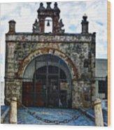 San Juan Mission Church Wood Print