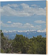 San Juan Mountains Wood Print