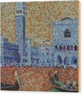 San Marco Wood Print