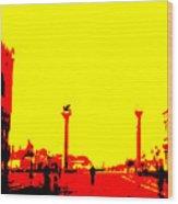 San Marco Sunrise No 3 Wood Print