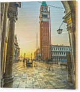 San Marco - Venice - Italy  Wood Print
