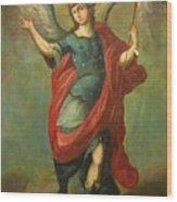 San Miguel Arcangel Wood Print