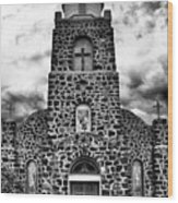 San Miguel, San Miguel, New Mexico, July 2, 2016 Wood Print