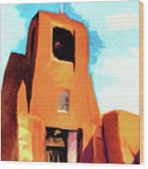 San Miguel Santa Fe Wood Print