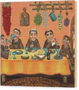 San Pascuals Table 2 Wood Print