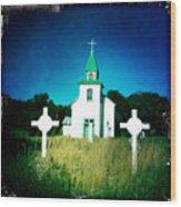San Patricio Church IIi Wood Print