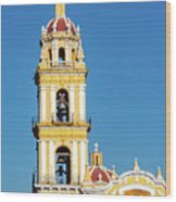 San Pedro Church Tower Wood Print