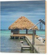 San Pedro La Isla Bonita Wood Print