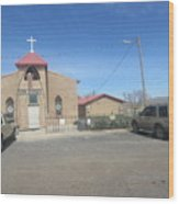 San Rafael Church Wood Print