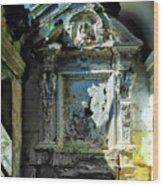San Rocco Chapel Ruins - Cappella San Rocco Rovine Wood Print
