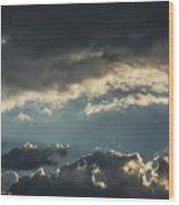 San Salvador Sunset 2 Wood Print