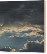 San Salvador Sunset 6 Wood Print
