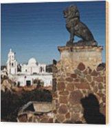 San Xavier Lions Wood Print