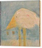 Sanctuary Bird Wood Print