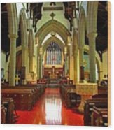 Sanctuary Christ Church Cathedral 2 Wood Print