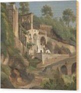 Sanctuary Dell'avvocatella In Cava De 'tirreni Wood Print