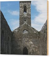Sanctuary Fuerty Church Roscommon Ireland Wood Print