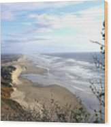 Sand And Sea 7 Wood Print