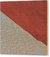 Sand And Stone Wood Print