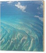 Sand Banks Wood Print