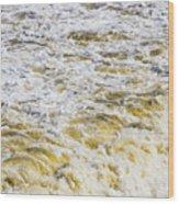 Sand Beach And Wave 5 Wood Print