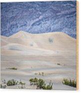 Sand Desert Usa Wood Print