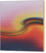 Sand Dune Fiber 0610 Wood Print