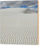 Sand Dune Magic 4 Wood Print