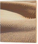 Sand Dunes 2 Wood Print