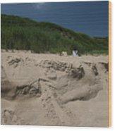 Sand Dunes II Wood Print