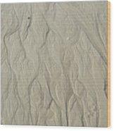 Sand Fire 3 Wood Print