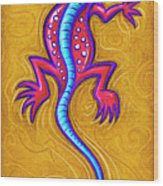 Sand Lizard Wood Print