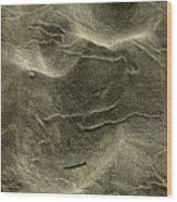 Sand Painting Wood Print