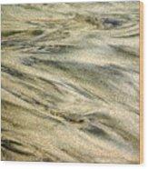 Sand Pattern Wood Print