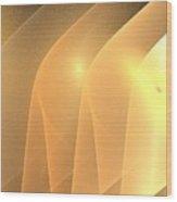 Sand Ridges Wood Print