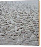 Sand Sculptures 2 Wood Print